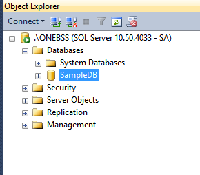 Microsoft Sql Server Management Studio